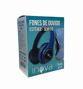 FONE DE OUVIDO ESTEREO SEM FIO BLUETOOTH INOVA FON-8686