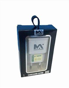 FONTE TOMADA CARREGADOR 2.4A 1USB MAXMIDIA MAX-CAR111