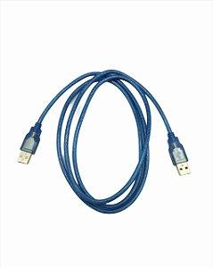 CABO USB-USB RESISTENTE  ( USB MACHO + USB MACHO ) 1.5M
