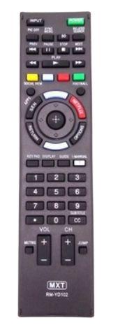 CR C01350 TV LED SONY TV RM-YD102, TECLA NETFLIX