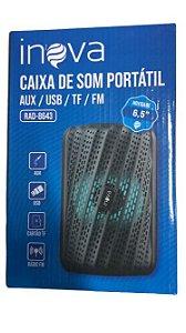 MINI CAIXA DE SOM PORTATIL INOVA RAD-8643