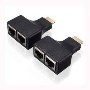 EXTENSOR HDMI 3D 30 METROS VIA CABO DE REDE UTP CAT5E/6