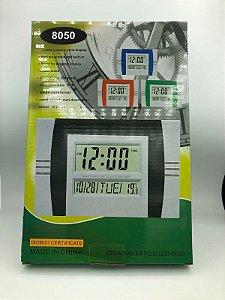 RELOGIO DESPERTADOR FUNCIONANDO ELETRICAMENTE DS-8050