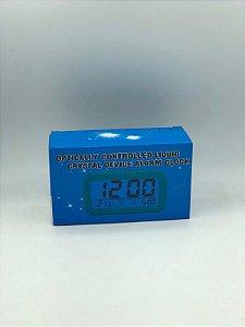 RELOGIO DESPERTADOR FUNCIONANDO ELETRICAMENTE DS-1019
