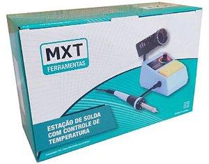 ESTAÇÃO DE SOLDA COM CONTROLE DE TEMPERATURA, 48W, 127V MXT MX-ES98