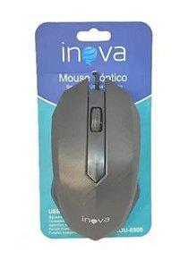 MOUSE ÓPTICO USB 3.0 INOVA MOU-6909