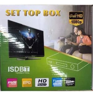 CONVERSOR DIGITAL SET TOP BOX FULL HD ISDBT