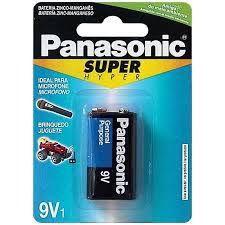 BATERIA PANASONIC 9V SUPER HYPER