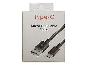 CABO USB 2.0 TYPE-C (1M)