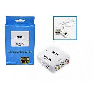 CONVERSOR DE HDMI PARA RCA AV - HDMI2AV LE-4113
