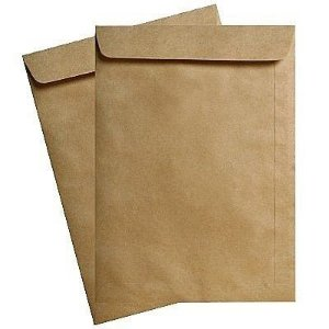 ENVELOPE SACO NATURAL 240X340 UNID.