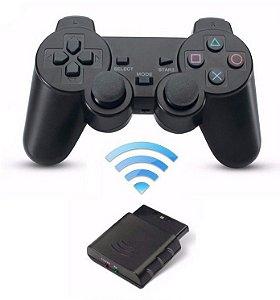 CONTROLE DE PLAYSTATION 2 SEM FIO ALTO-3M