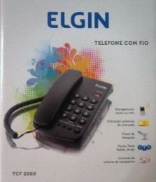 TELEFONE DE MESA COM FIO ELGIN TCF 2000