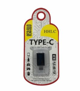 ADAPTADOR OTG USB FEMEA PARA TYPE-C HHLC