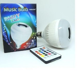 LAMPADA BLUETOOTH MUSIC