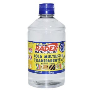 COLA MULTIUSO RADEX TRANSPARENTE 500g