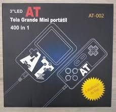 MINI GAME PORTATIL TELA GRANDE 400 IN 1 C/ CONTROLE AT-002
