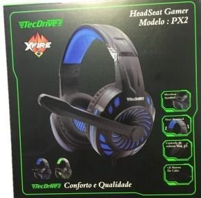 HEADSET GAMER PX-2-SPACE PS3 PS4 XBOX ONE P3 TECDRIVE
