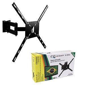 SUPORTE ARTICULADO PARA TV E MONITOR TELAS DE 10 A 70 QS-700 PLUS
