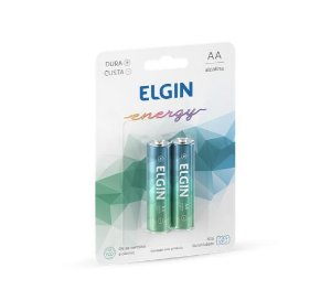 PILHA ALCALINA AA BLISTER C/2 ELGIN 82152