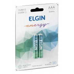 PILHA ALCALINA AAA BLISTER C/2 ELGIN 82154