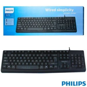 TECLADO USB PHILIPS K214