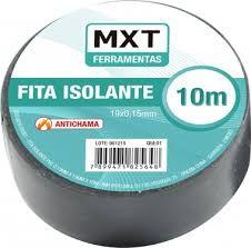 FITA ISOLANTE ANTICHAMA PVC 0.15MM X 19MM X10M