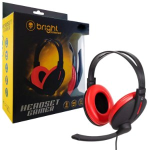 HEADSET GAMER BRIGHT SUPER BASS 0206