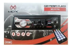 SOM P/ CARRO MOX USB/FM/MP3/BT MO-TC700