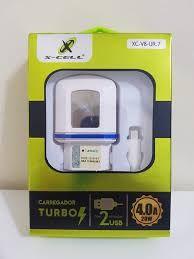CARREGADOR DE BATERIA P/ TELEFONE CELULAR - MARCA X-CELL. MOD. XC-V8-UR.7