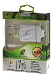 CARREGADOR P/ TELEFONE CELULAR - MARCA X-CELL. MOD. XC-V8-UR.13