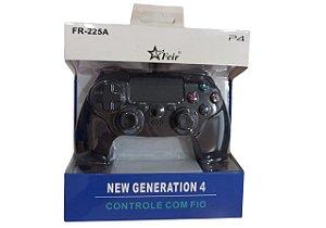 CONTROLE PS4 GENERATION COM FIO FEIR FR-225A