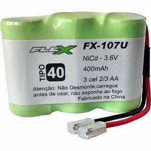 BATERIA PARA TELEFONE SEM FIO FX-107U 3.6V 600MAH