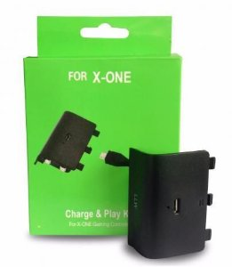 BATERIA C/ CARREGADOR PLAY CHARGE XBOX ONE FR-302O
