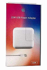 CARREGADOR IPHONE 15W USB POWER ADAPTER