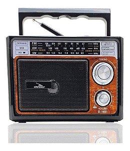 RADIO PORTATIL FM/AM/USB GRASEP D-1601