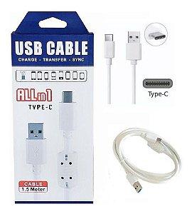 CABO DE DADOS USB TYPE-C 1.5M ALLin1