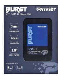 HD SSD 120GB BURST 2.5 SATA III 6GBPS PATRIOT PE541