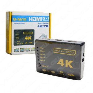 SWITCH 5X1 HDMI 4K B-MAX BM8682