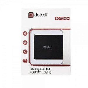 CARREGADOR DE MESA PORTATIL DOTCELL INDUÇAO DC-TC5020 PRETO