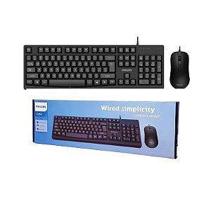 Kit Teclado e Mouse c/ fio - C214/SPT6214