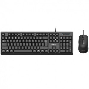 KIT TECLADO E MOUSE WIRED SIMPLICITY C234 PHILIPS