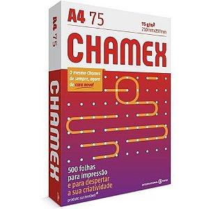 PAPEL SULFITE A4 CHAMEX C/500 FOLHAS
