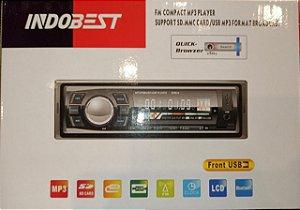 SOM AUTOMOTIVO INDOBEST USB/FM/MP3