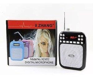 RADIO MEGAPHONE PORTATIL FM/USB/CARD XZ-812