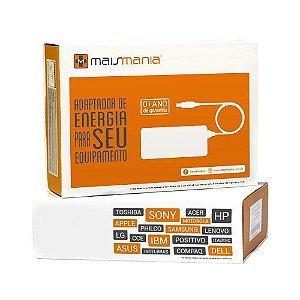 FONTE P/ NOTEBOOK 18.5V 4.9A HP/COMPAQ/LG/ASUS MM068 MAIS MANIA