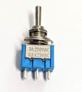 CHAVE HH ON/OFF/ON 3 POSICOES 6A 250V MXT