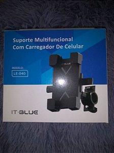 SUPORTE UNIVERSAL IT BLUE PARA CELULAR LE-040 (NÃO ACOMPANHA CABO)