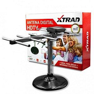ANTENA DIGITAL HDTV INTERNO E EXTERNO XTRAD XT-2116