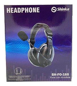 HEADPHONE COM MICROFONE P2 SHINKA SH-FO-168
